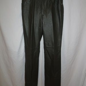 Pants - Newport News Jeanology Collection Womens Leather